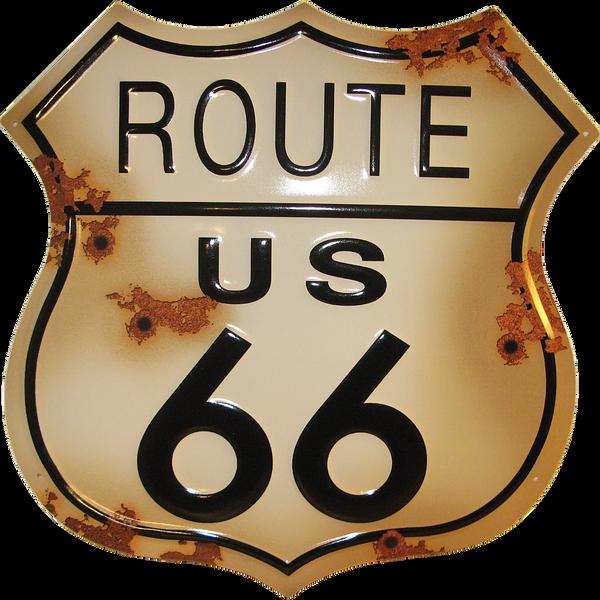 Bilde av Route 66 Rustic Shield