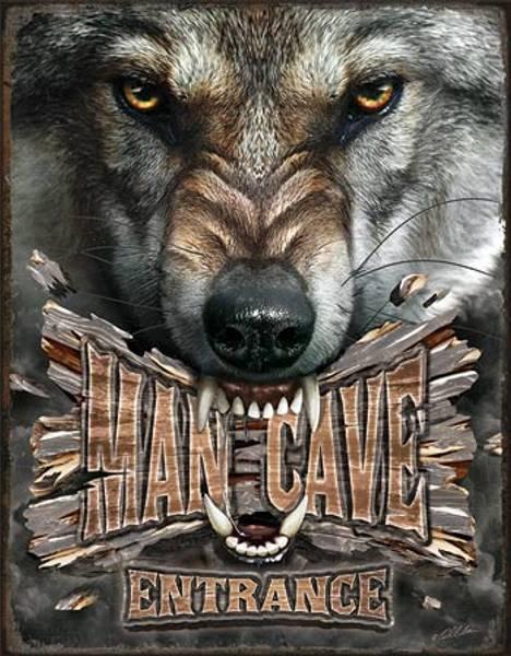 Bilde av Man Cave Wolf