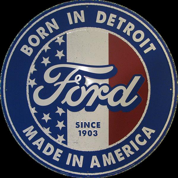 Bilde av Ford Born In Detroit