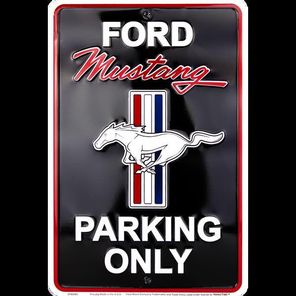 Bilde av Ford Mustang Parking Black