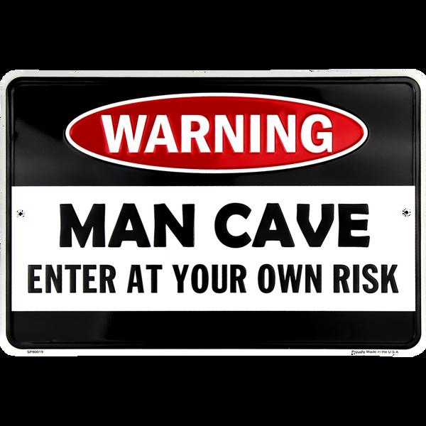 Bilde av Warning Man Cave