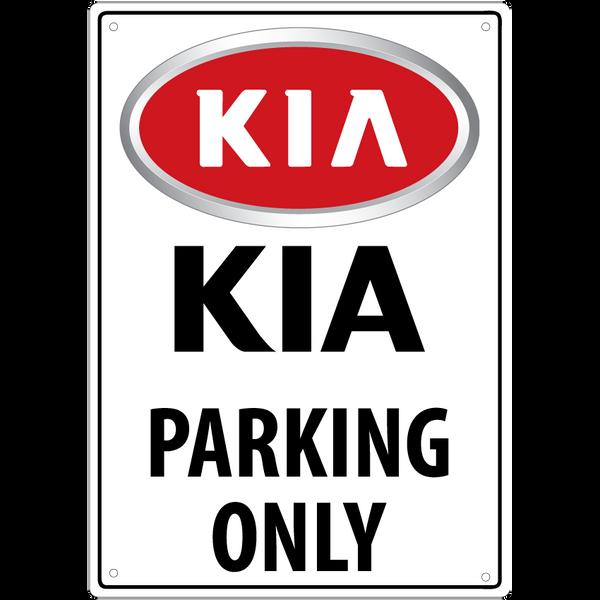 Bilde av KIA Parking Only