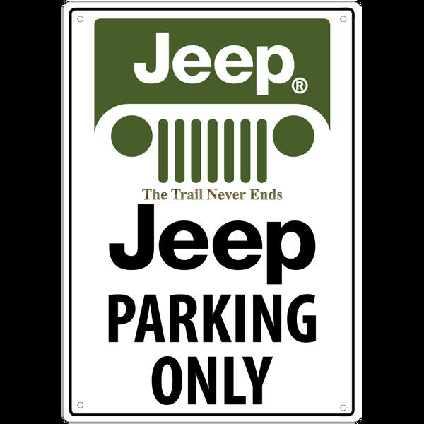 Bilde av Jeep Parking Only