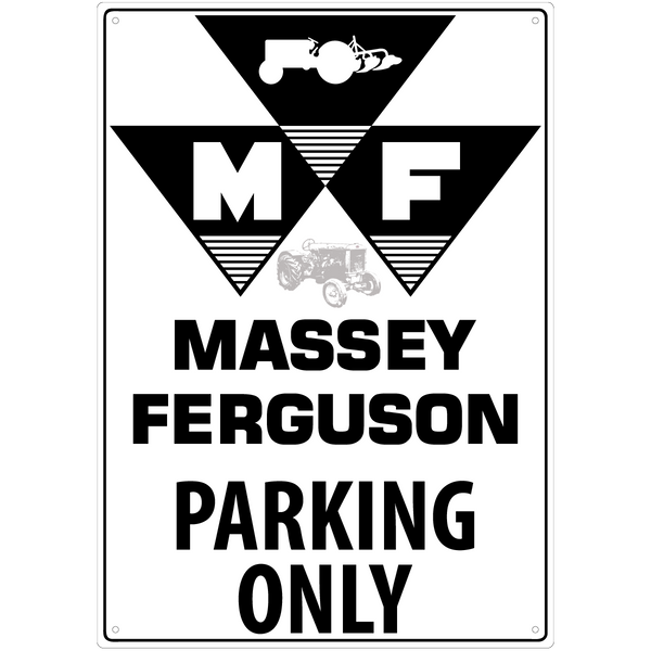 Bilde av Massey Ferguson Vintage Parking Only A3