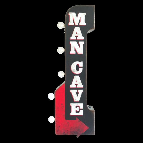 Bilde av Man Cave LED OTW Skilt