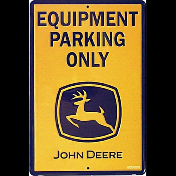 Bilde av John Deere Equipment Parking Only