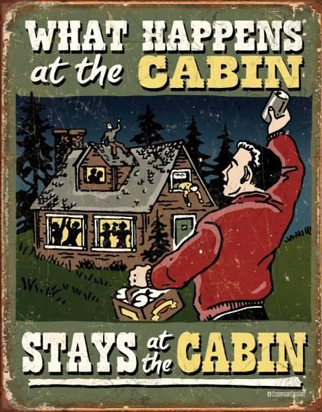 Bilde av Cabin What Happens