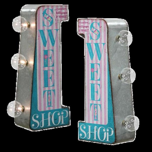 Bilde av Sweet Shop LED Mini Skilt