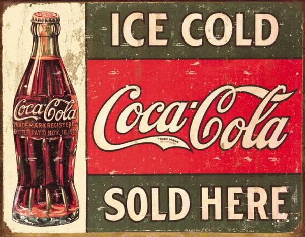 Bilde av Coca-Cola Ice Cold 1916