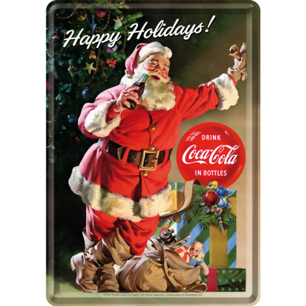 Bilde av Coca-Cola - Happy Holidays Santa