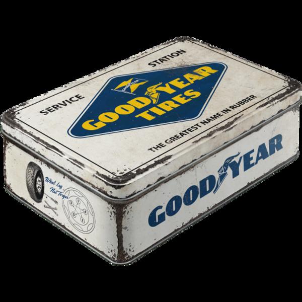 Bilde av Goodyear White Logo