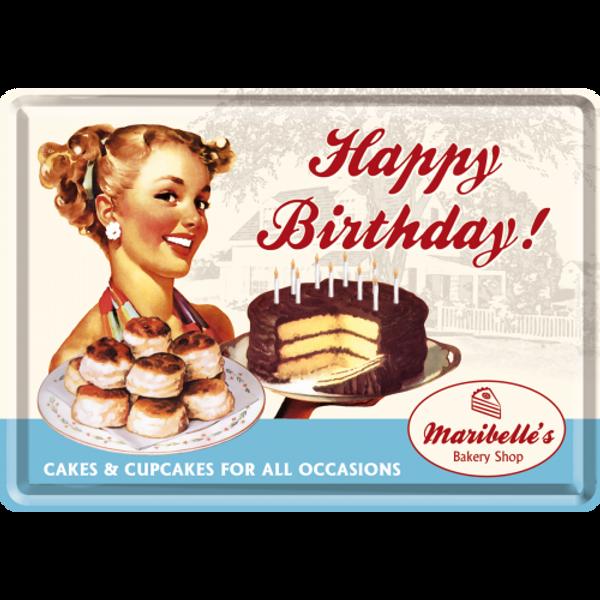 Bilde av Happy Birthday Cake