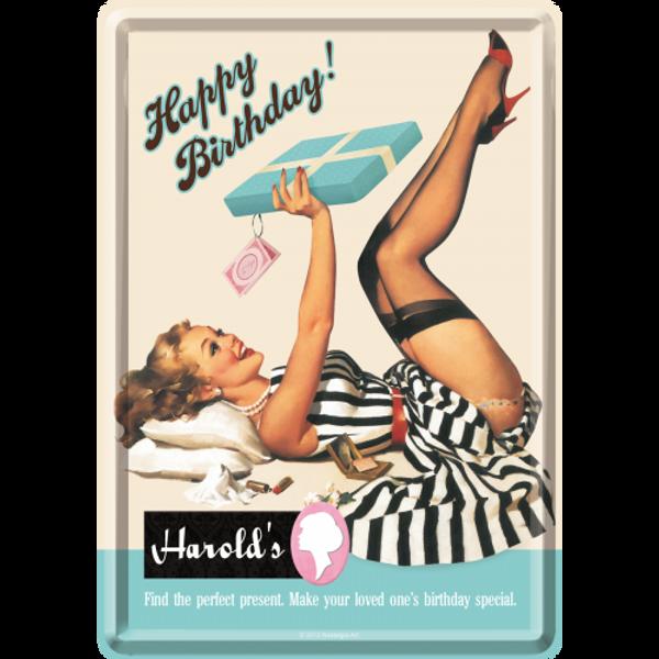 Bilde av Happy Birthday Harrolds