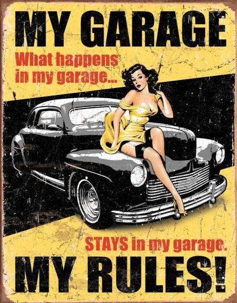 Bilde av My Garage My Rules