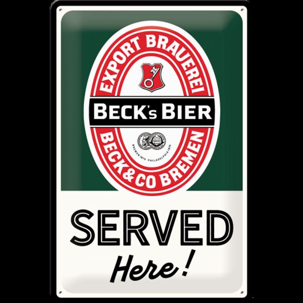 Bilde av Becks Served Here