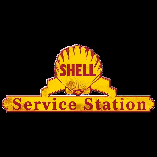 Bilde av Shell Service Station Grunge