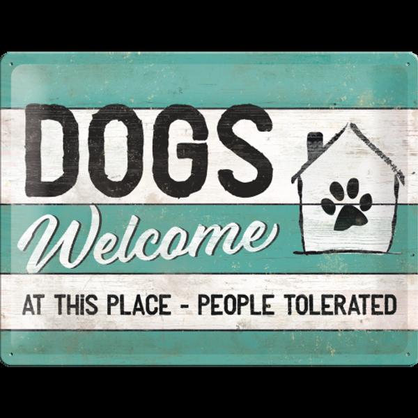 Bilde av Dogs Welcome