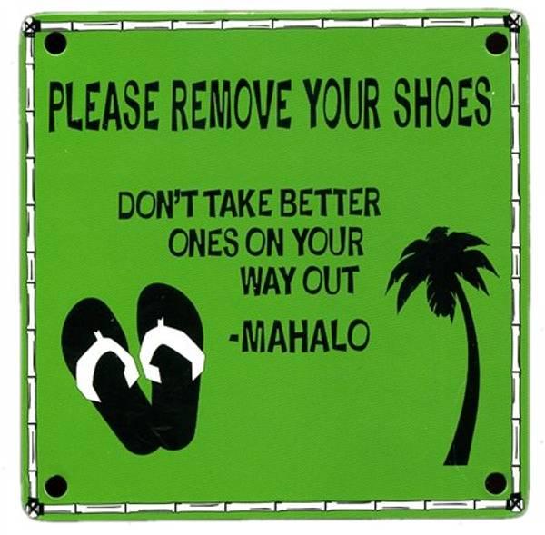 Bilde av Please Remove Your Shoes