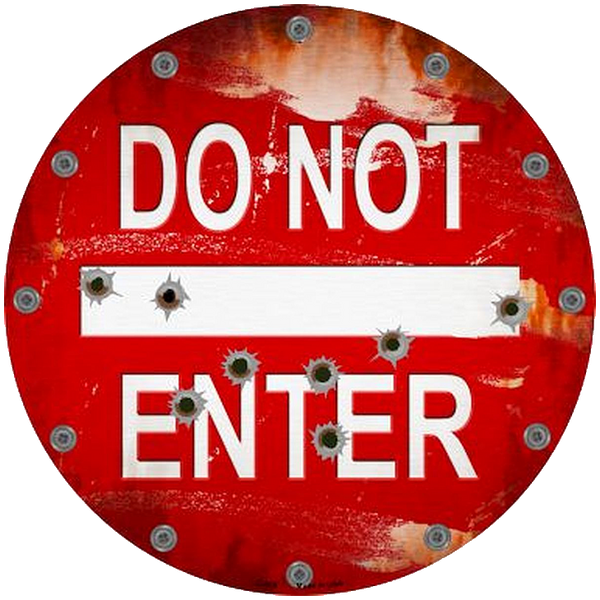Bilde av Do Not Enter
