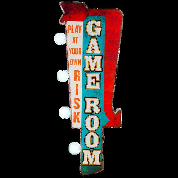 Bilde av Gameroom LED OTW Skilt