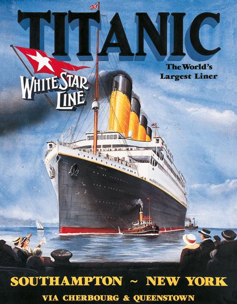 Bilde av Titanic White Star