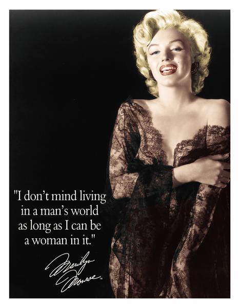 Bilde av Marilyn Monroe Man's World