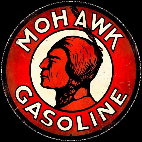 Bilde av Mohawk Gasoline Round XL