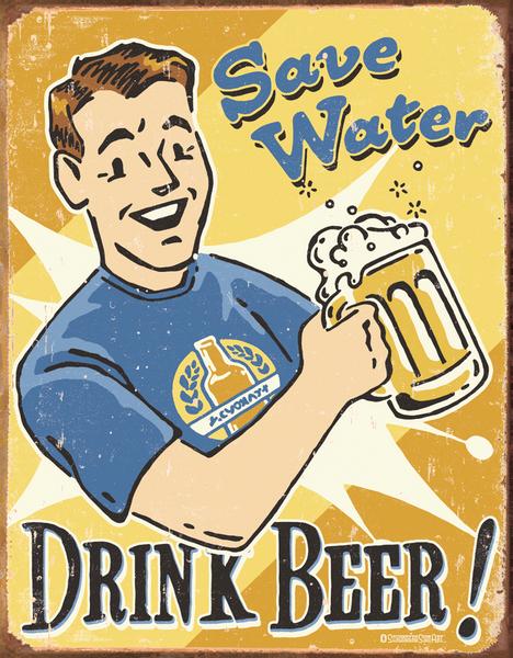 Bilde av Save Water Drink Beer