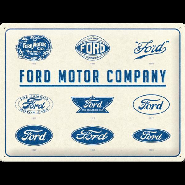 Bilde av Ford Logo Evolution