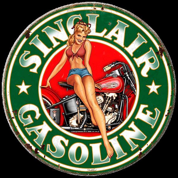 Bilde av Sinclair Gasoline Round XL