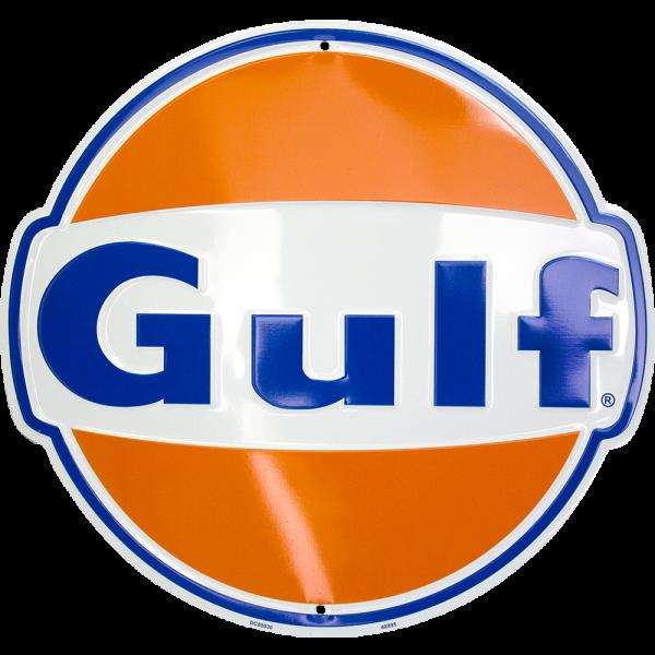 Bilde av Gulf Logo Die Cut