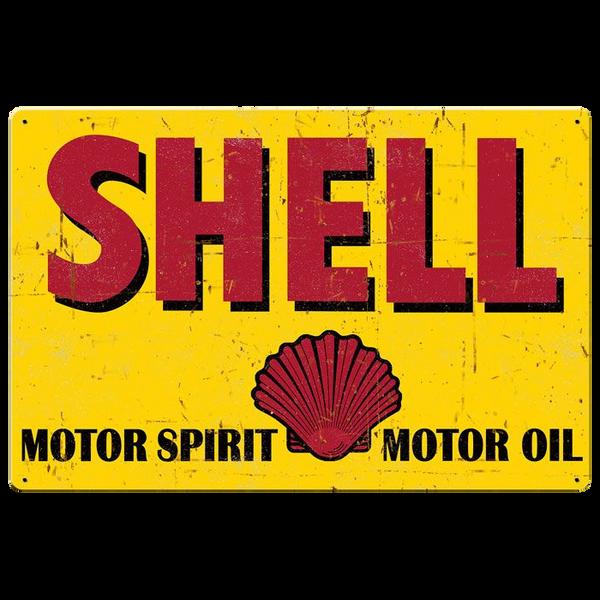 Bilde av Shell Motor Spirit Grunge