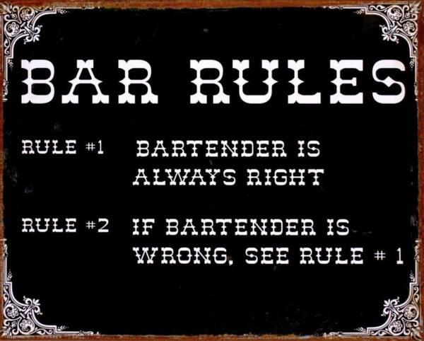 Bilde av Bar Rules