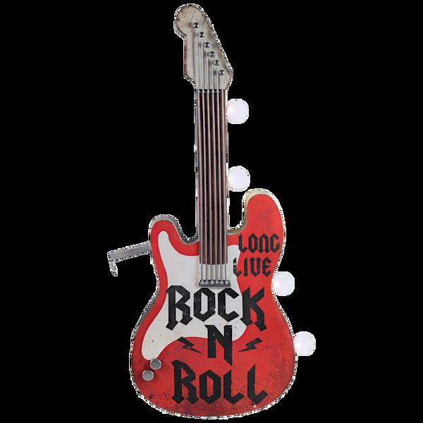 Bilde av Rock N Roll Guitar OTW LED Skilt