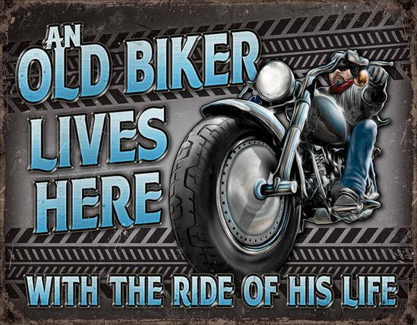 Bilde av Old Biker