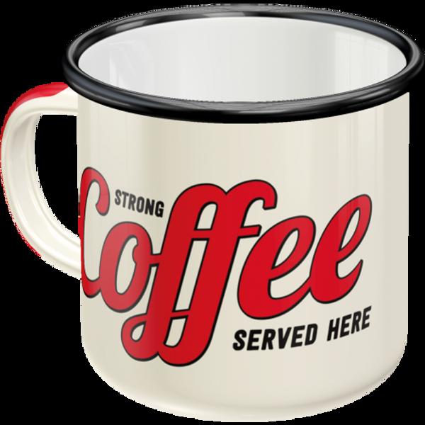 Bilde av Strong Coffee Served Here