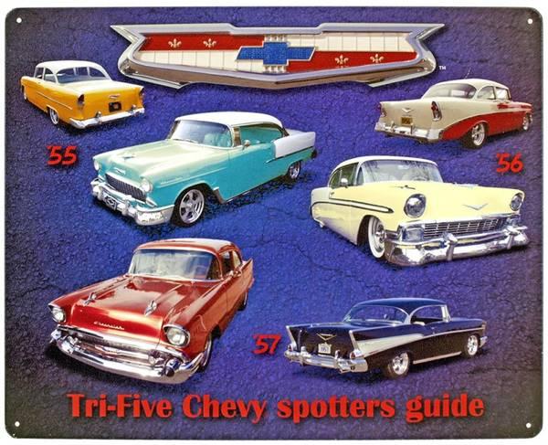 Bilde av Tri-Five Chevy Spotters Guide