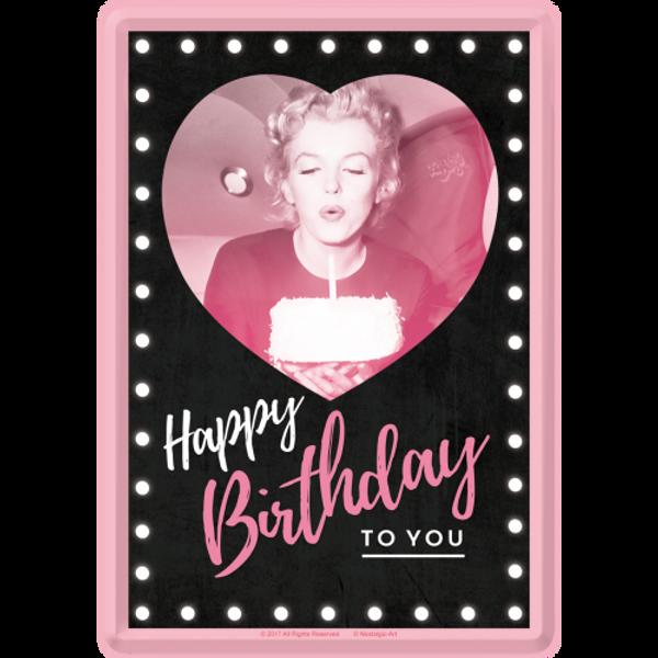 Bilde av Marilyn Happy Birthday