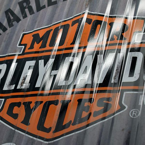 Harley-Davidson Metal Wall
