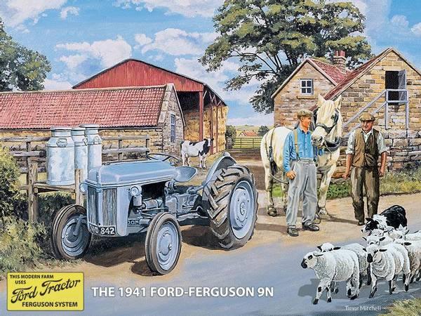 Bilde av Ford Ferguson Grey 9N 1941