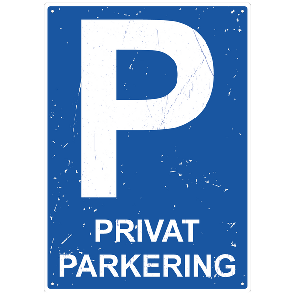 Bilde av Privat Parkering Vintage A4