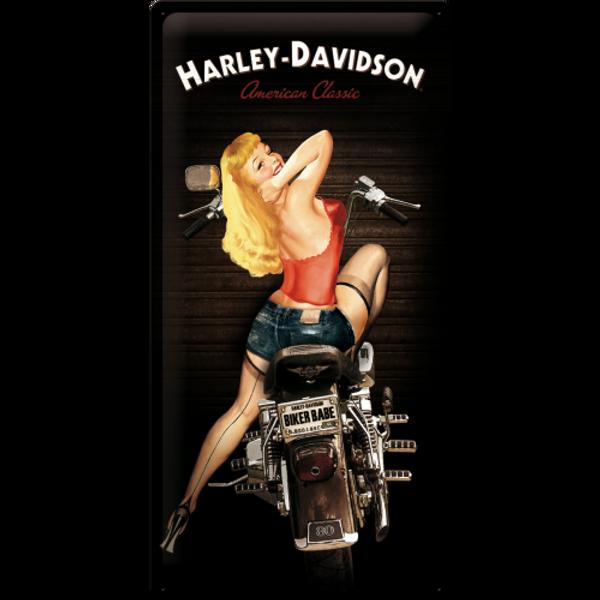 Bilde av Harley-Davidson Biker Babe 25x50
