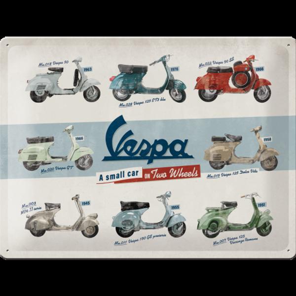 Bilde av Vespa Model Chart