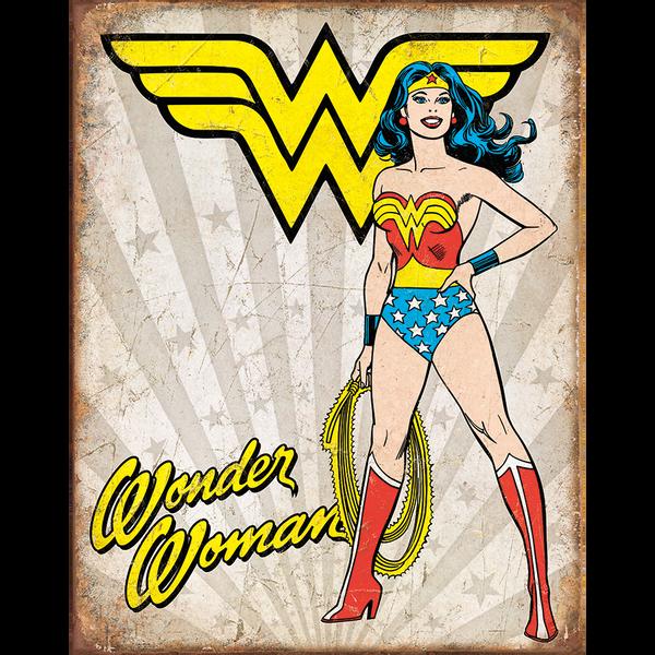 Bilde av Wonder Woman Retro Panel