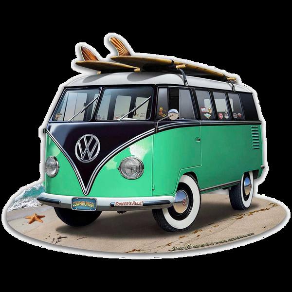 Bilde av Volkswagen Bus Green