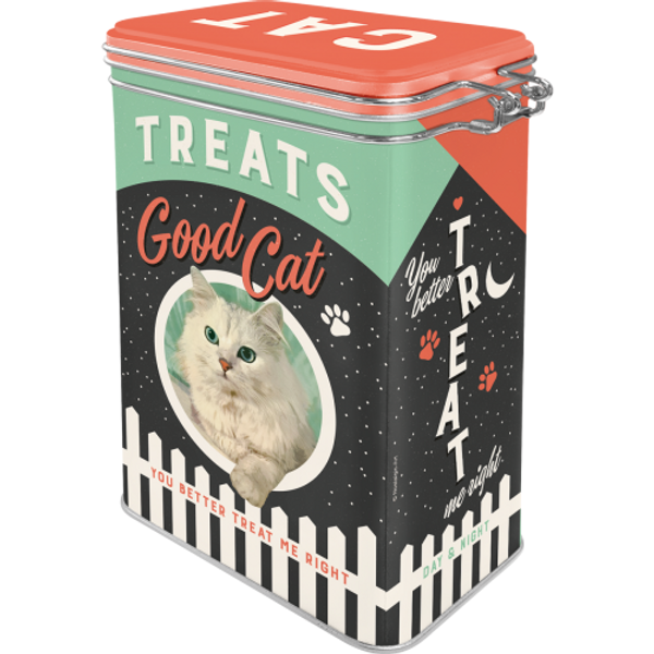 Cat Treats Good Boy