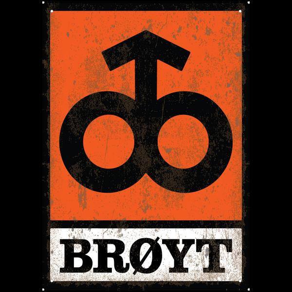 Bilde av Brøyt Logo Vintage A3