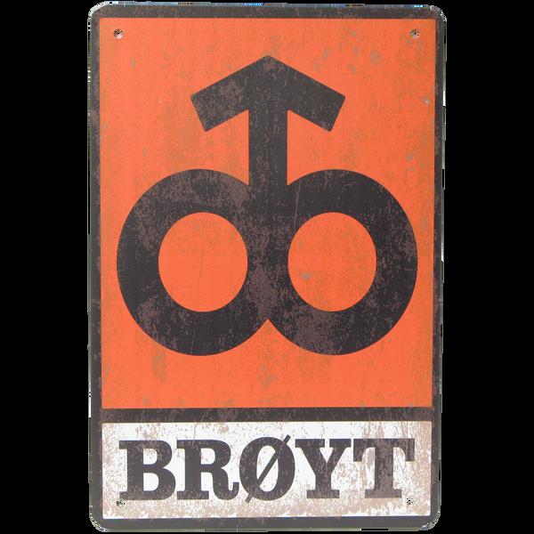 Bilde av Brøyt Logo Vintage A4