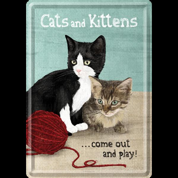 Bilde av Cats and Kittens -Postkort