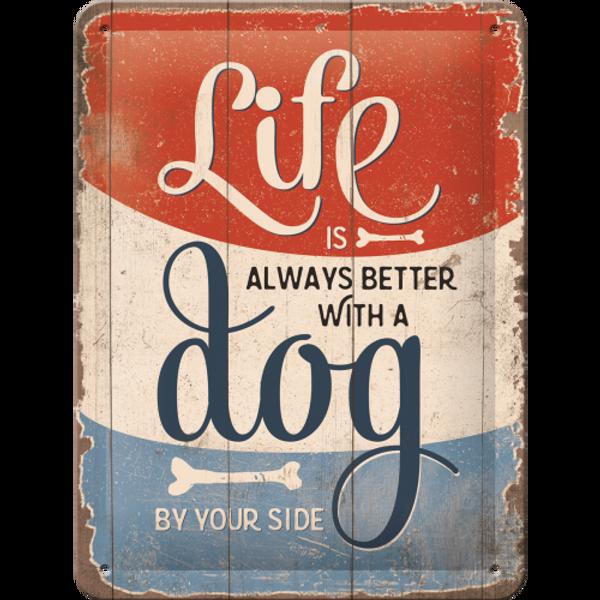 Bilde av Life is Better With a Dog